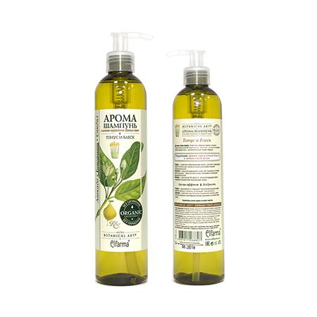 Шампунь сандал-бергамот-авокадо (для нормальных волос) эльфарма