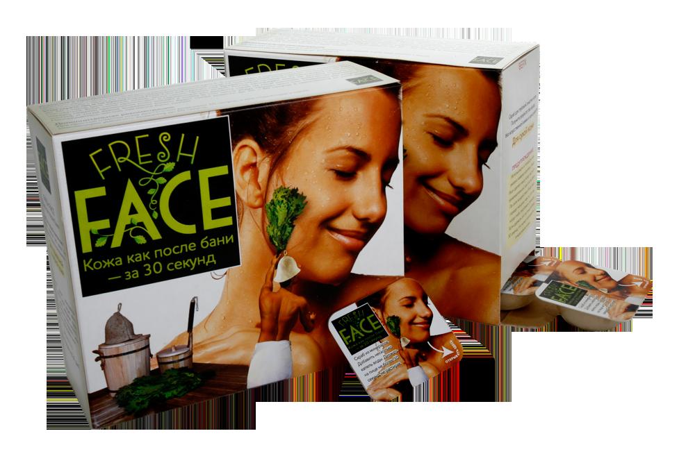 Скраб для бережной очистки  жирной и нормальной кожи fresh face биобьюти
