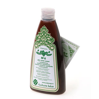 Виноградный шампунь для сухих волос зейтун №6 (Зейтун)