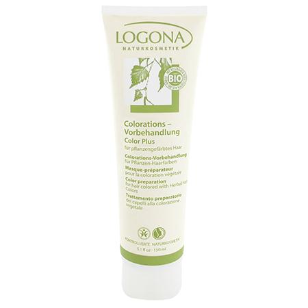 Моющая крем-маска колор плюс с зеленой глиной logona, 150 мл (Logona)