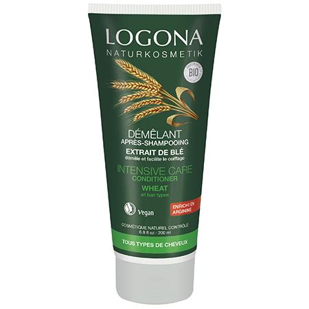 Кондиционер для волос с протеинами пшеницы logona, 200 мл