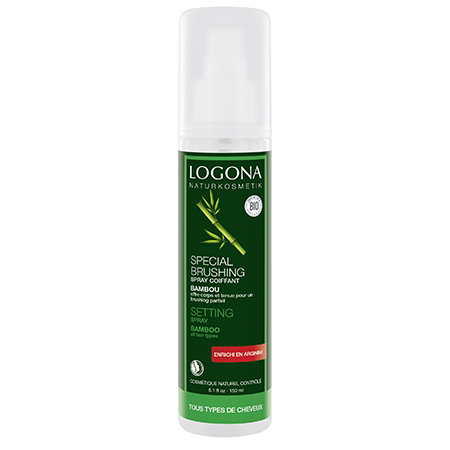 Спрей для укладки феном с экстрактом бамбука logona, 150 мл (Logona)