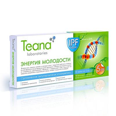 Teana Сыворотка энергия молодости тиана
