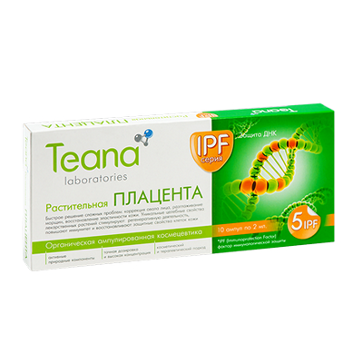 Teana Сыворотка растительная плацента антивозрастной тиана