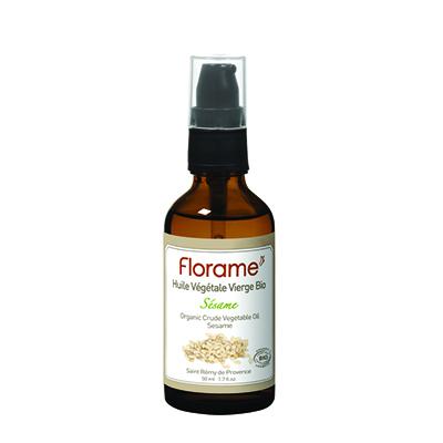 Косметическое масло для сухой, зрелой и чувствительной кожи кунжут florame (Florame)