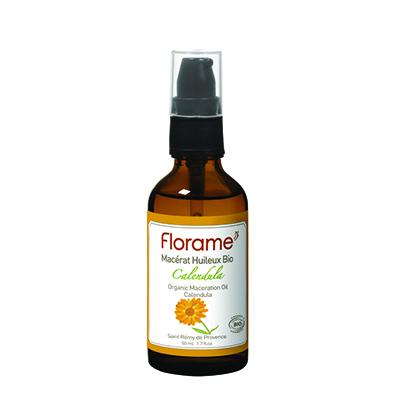 Косметическое масло для чувствительной и нежной кожи календула florame (Florame)