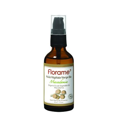 Косметическое масло для сухой кожи макадамия florame