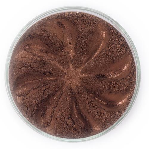 Минеральные тени для век frost (коричневый оттенок) (ERA  Minerals)