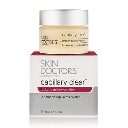 Крем для кожи с поврежденными капиллярами capillary clear skin doctors