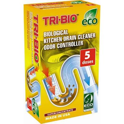 Биоформула для прочистки кухонных труб, контролер запаха tri-bio