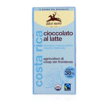 Молочный шоколад alce nero (Alce Nero)