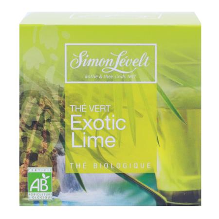 Чай зеленый байховый exotic lime, simon levelt (Simon Levelt)