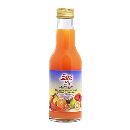 Сок мультифруктовый 200 мл eos bio (Eos Bio)