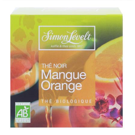 Чай черный байховый ароматизированный mango orange, simon levelt (Simon Levelt)