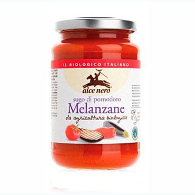 Соус томатный с баклажанами alce nero (Alce Nero)