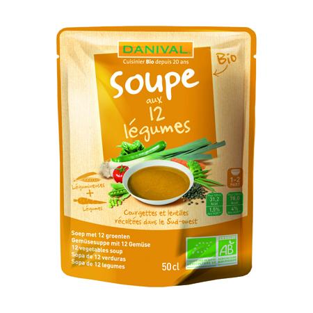 Суп 12 овощей danival