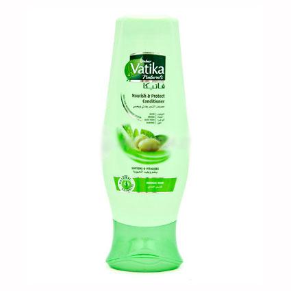 Кондиционер для волос vatika naturals nourish protect питание и защита для нормальных волос dabur
