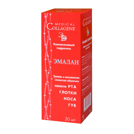 Коллагеновый гидрогель эмалан стоматологический medical collagene (Medical Collagene)