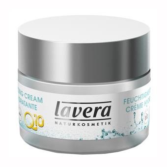 Био-крем для лица увлажняющий с коэнзимом q10 basis lavera (Lavera)