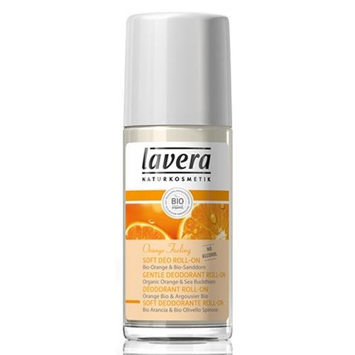 Шариковый био-дезодорант апельсиновые чувства lavera