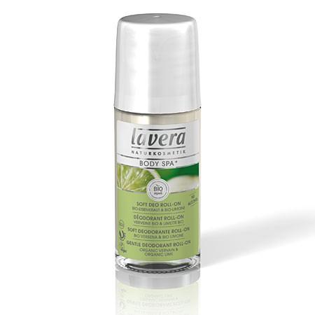 Шариковый био-дезодорант лайм lavera