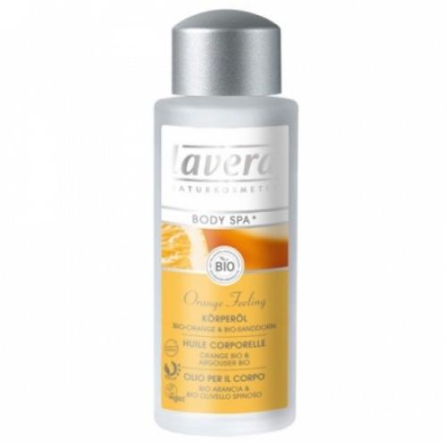 Масло для тела апельсиновые чувства lavera