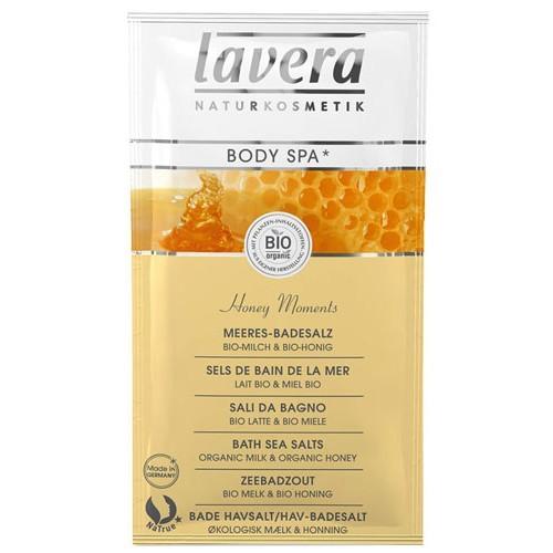 Морская био-соль для ванн медовые моменты lavera (Lavera)