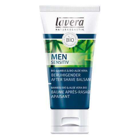 Мужской успокаивающий био-бальзам после бритья lavera (Lavera)