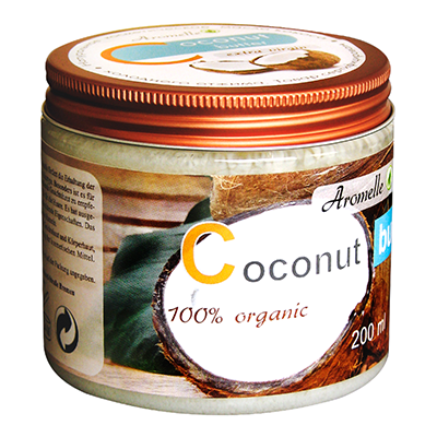 Масло кокоса для кожи и волос organic aromelle (Aromelle)