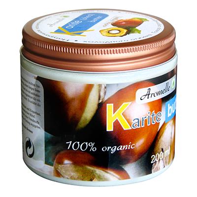 Масло ши для кожи и волос organic aromelle