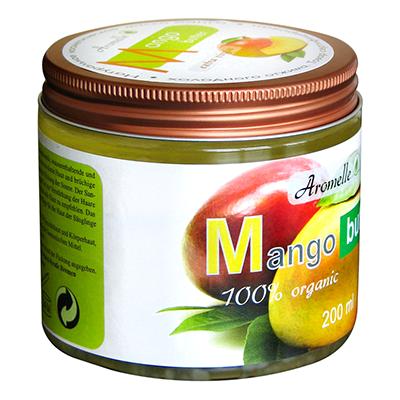 Масло манго для кожи и волос organic aromelle