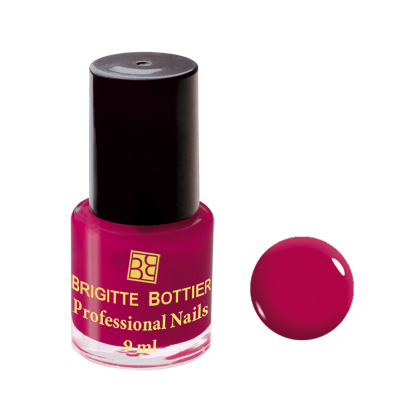 Лак для ногтей (оттенок 03, вишневый) professional nails brigitte bottier (Brigitte Bottier)