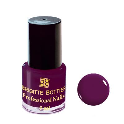 Лак для ногтей (оттенок 10, тёмно-бордовый) professional nails brigitte bottier (Brigitte Bottier)