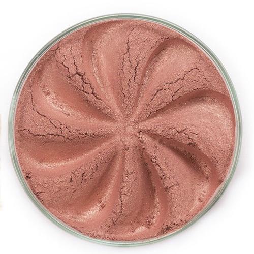 Матовые минеральные румяна blush (розово-персиковые с блеском) era minerals (ERA  Minerals)