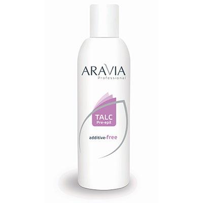 Тальк косметический (для депиляции) aravia professional 100 гр