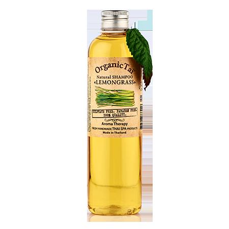 Натуральный шампунь для волос лемонграсс organic tai