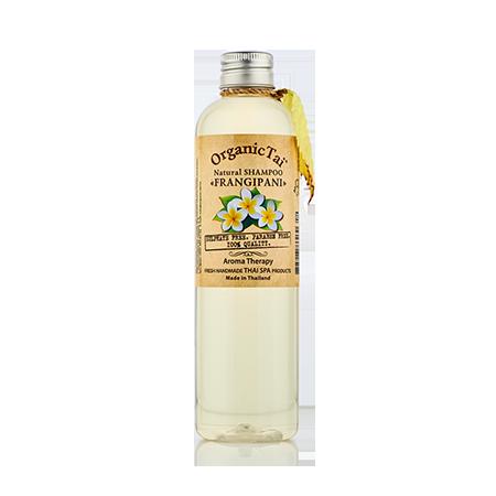 Натуральный шампунь  для волос франжипани organic tai