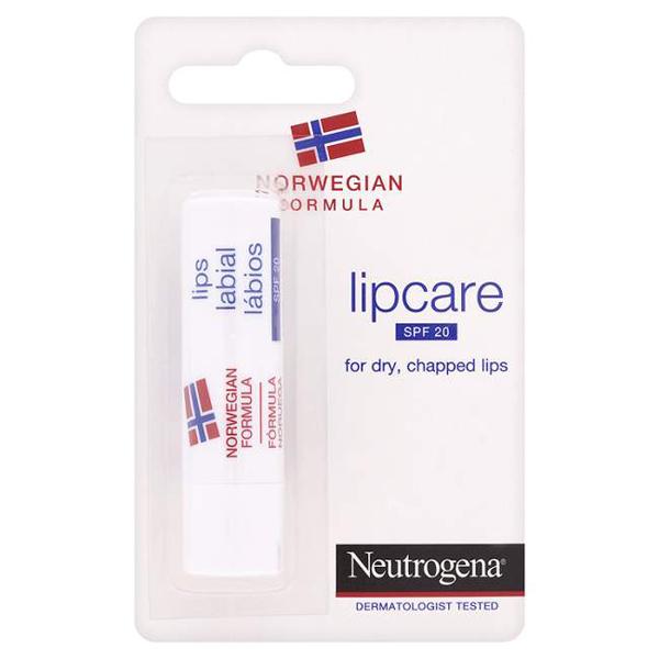 Помада для губ spf 20 lip care neutrogena (Neutrogena)