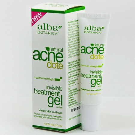 Гель максимальный эффект invisible treatment gel alba botanica (Alba Botanica)