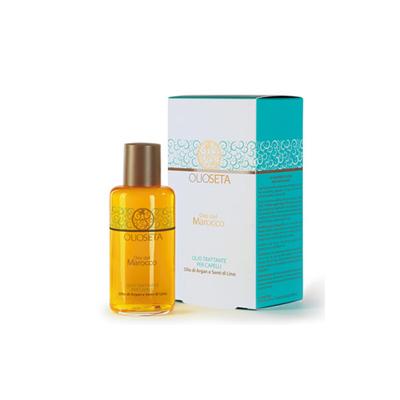 Масло-уход с маслом арганы и маслом семян льна barex italiana, 100 мл (Barex Italiana)