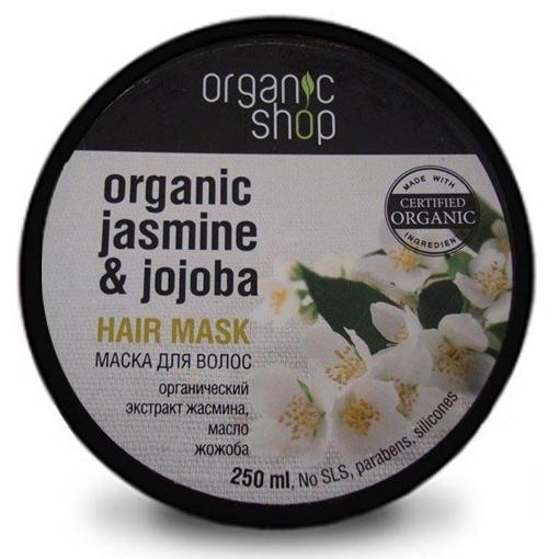 Маска для волос индийский жасмин organic shop