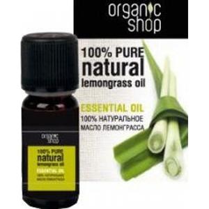 Натуральное эфирное масло лемонграсс organic shop (Organic Shop)