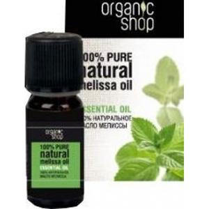 Натуральное эфирное масло мелисса organic shop (Organic Shop)