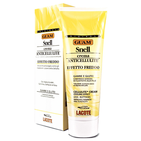 Крем антицеллюлитный с охлаждающим эффектом для массажа snell guam
