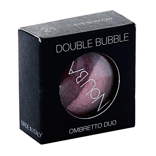 Тени двойные для век double bubble (тон №21), nouba