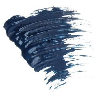 Тушь cупер объем perfetto 06 deep blue (синяя) limoni