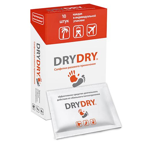 Салфетки dry dry для разового применения (упаковка) (DryDry)