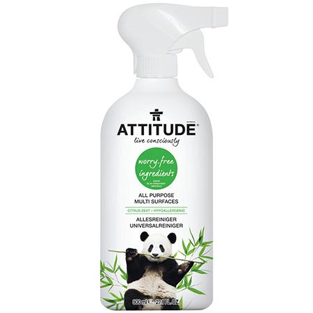 Экологический универсальный очиститель поверхностей attitude