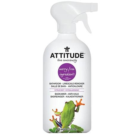 Экологический очиститель для ванных комнат (спрей) attitude