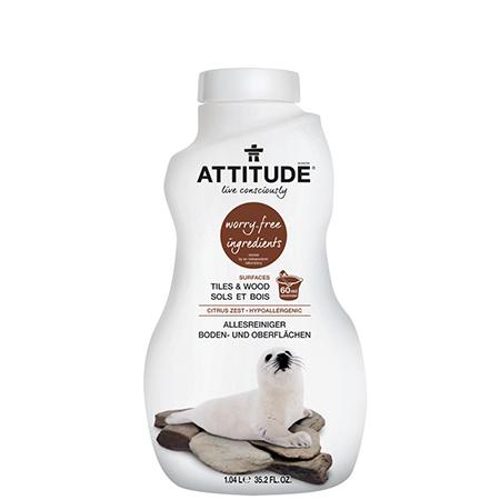 Экологическое средство для мытья пола attitude